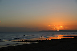 © Licensed to London News Pictures. 14/11/2013. Photos of an autumn sunset at Bexhill on Sea in East Sussex. Credit : Rob Powell/LNP