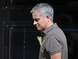 © Licensed to London News Pictures. 24/05/2016. London, UK. Jose Mourinho leaves home. Mourinho is expected to be named as Manchester United manager in the next few days. Photo credit: Peter Macdiarmid/LNP