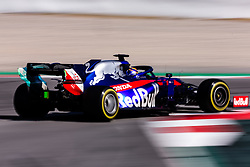 February 26, 2019 - Barcelona, Barcelona, Spain - Alexander Albon from Thailand 23 Scuderia Toro Rosso Honda in action during the Formula 1 2019 Pre-Season Tests at Circuit de Barcelona - Catalunya in Montmelo, Spain on February 26. (Credit Image: © AFP7 via ZUMA Wire)