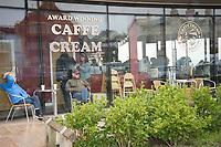 Caffe Cream  New Brighton Wallasey Merseyside 4th july 2020