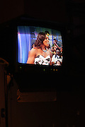 7 July 2010- New York, NY- Venus Williams on screen at BET Studios for her segment as she begins her promotion of her new book ' Come to Win ' published by HarperCollins on July 7, 2010 in New York City.
