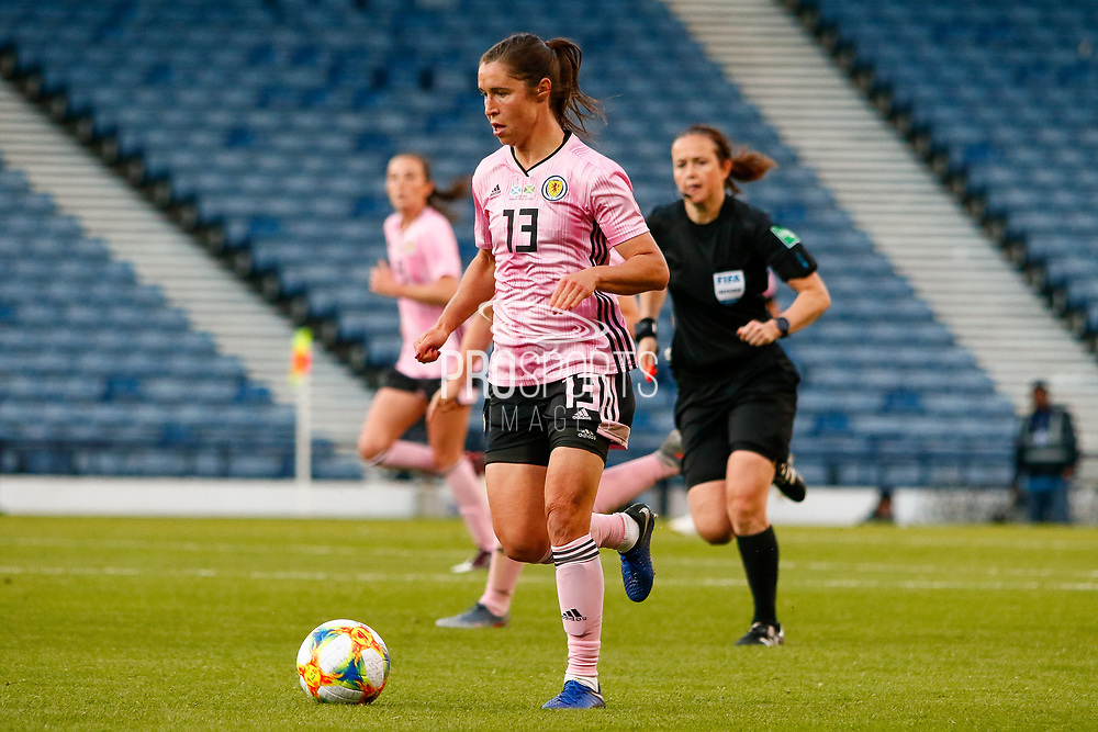 Scotlands Jane ROSS (West Ham United WFC (ENG)) during the International Friendly match between Scotland Women and Jamaica Women at Hampden Park, Glasgow, United Kingdom on 28 May 2019.
