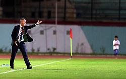 June 7, 2017 - Blida, Algiers, Algeria - Lucas Alcaraz coach of the Algerian team during Friendly Match Algeria vs Guinea at the Mustapha Tchaker Stadium in Blida, Algeria, on 6 June 2017. (Credit Image: © Billal Bensalem/NurPhoto via ZUMA Press)