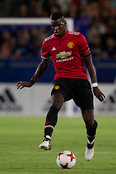 July 15, 2017 - Carson, California, U.S - Manchester United M Paul Pogba (6) in action during the summer friendly between Manchester United and the Los Angeles Galaxy at the StubHub Center. (Credit Image: © Brandon Parry via ZUMA Wire)