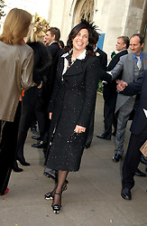 KIRSTIE ALLSOPP at the wedding of Clementine Hambro to Orlando Fraser at St.Margarets Westminster Abbey, London on 3rd November 2006.<br /><br />NON EXCLUSIVE - WORLD RIGHTS