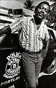 Junior Murvin at home in Port Antonio Jamaica 1973