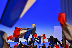 April 27, 2017 - Nice, France - Marine Le Pen  (Credit Image: © Panoramic via ZUMA Press)