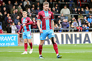 Scunthorpe United midfielder Ryan Colclough  during the EFL Sky Bet League 1 match between Scunthorpe United and Plymouth Argyle at Glanford Park, Scunthorpe, England on 27 October 2018. Pic Mick Atkins
