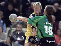 Håndball:  Ikast-Bording vandt kvindernes pokalfinale 26-17 over Viborg. Kjersti Grini scorede 3 mål for Ikast.   <br />Foto: Claus Bonnerup, Digitalsport