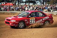 Martin Lintott & Tony Jackson – Subaru Impreza WRX - Saxon Safari Tasmania - ARC- 11th-12th September 1999