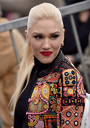 Gwen Stefani attends the ceremony honoring Adam Levine with a star on the Hollywood Walk of Fame on February 5, 2017 in Los Angeles, California. Photo by Lionel Hahn/AbacaUsa.com