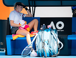 January 20, 2019 - Melbourne, AUSTRALIA - Amanda Anisimova of the United States in action during her fourth-round match at the 2019 Australian Open Grand Slam tennis tournament (Credit Image: © AFP7 via ZUMA Wire)