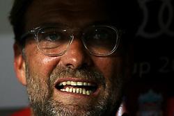 August 1, 2017 - Munich, Germany - Liverpool coach Jurgen Klopp during the second Audi Cup football match between FC Bayern Munich and FC Liverpool in the stadium in Munich, southern Germany, on August 1, 2017. (Credit Image: © Matteo Ciambelli/NurPhoto via ZUMA Press)
