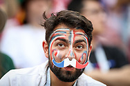 Fan of France during the 2018 FIFA World Cup Russia, Group C football match between Denmark and France on June 26, 2018 at Luzhniki Stadium in Moscow, Russia - Photo Thiago Bernardes / FramePhoto / ProSportsImages / DPPI