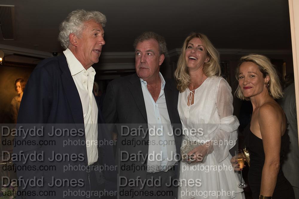 HENRY WYNDHAM; JEREMY CLARKSON; LISA HOGAN; TARA AGACE , Robin Birley and Lady Annabel Goldsmith Summer Party. Hertford St. London. 5 July 2017