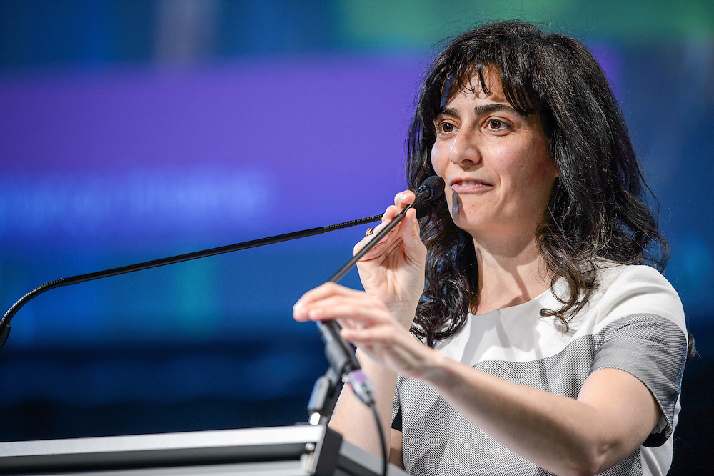 04 June 2015 - Belgium - Brussels - European Development Days - EDD - Jobs - Growing agriculture , growing jobs - The private sector on the spot - Veronica Rubio , Senior Strategic Issues Manager , Business Social Compliance Initiative (BSCI) © European Union