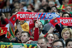 March 22, 2019 - Lisbon, Portugal - Portugal's supporters during the UEFA EURO 2020 group B qualifying football match Portugal vs Ukraine, at the Luz Stadium in Lisbon, Portugal, on March 22, 2019. (Credit Image: © Pedro Fiuza/NurPhoto via ZUMA Press)