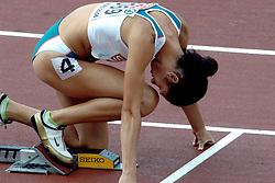 10-08-2006 ATLETIEK: EUROPEES KAMPIOENSSCHAP: GOTHENBORG <br /> Vanya Stambolova BUL, winnares 400 meter <br /> ©2006-WWW.FOTOHOOGENDOORN.NL