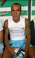 Milano 21/8/2004 Supercoppa Italiana - Italian Supercup Milan Lazio 3-0 Paolo Di Canio Lazio<br /> <br /> Foto Andrea Staccioli Graffiti