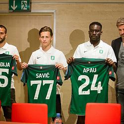 20170714: SLO, Football - Press conference of NK Olimpija Ljubljana