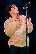 The Charlatans - Tim Burgess / V Festival 98, Hylands Park, Chelmsford, Essex, Britain - August 1998.