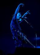 Radiohead played the Bonnaroo festival in Manchester, TN on Saturday June 17, 2006.  Mark Cornelison
