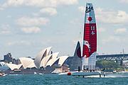 SailGP Practice race day. SailGP Japan Team.