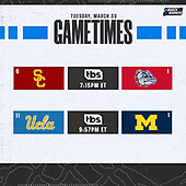 March 30, 2021 (USA): 2021 NCAA Basketball Tournament