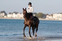 Frew Cara Bianca, RSA, Imperio vd Coninckshoeve<br /> Beach ride in the morning<br /> La Baule 2018<br /> © Hippo Foto - Tiffany Van Halle<br /> 19/05/2018