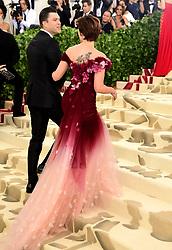 Scarlett Johansson attending the Metropolitan Museum of Art Costume Institute Benefit Gala 2018 in New York, USA.