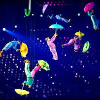 England, UK, London, 29-08-2012.<br /> Opening ceremony of the paralympic games. <br /> Photo : Klaas Jan van der Weij
