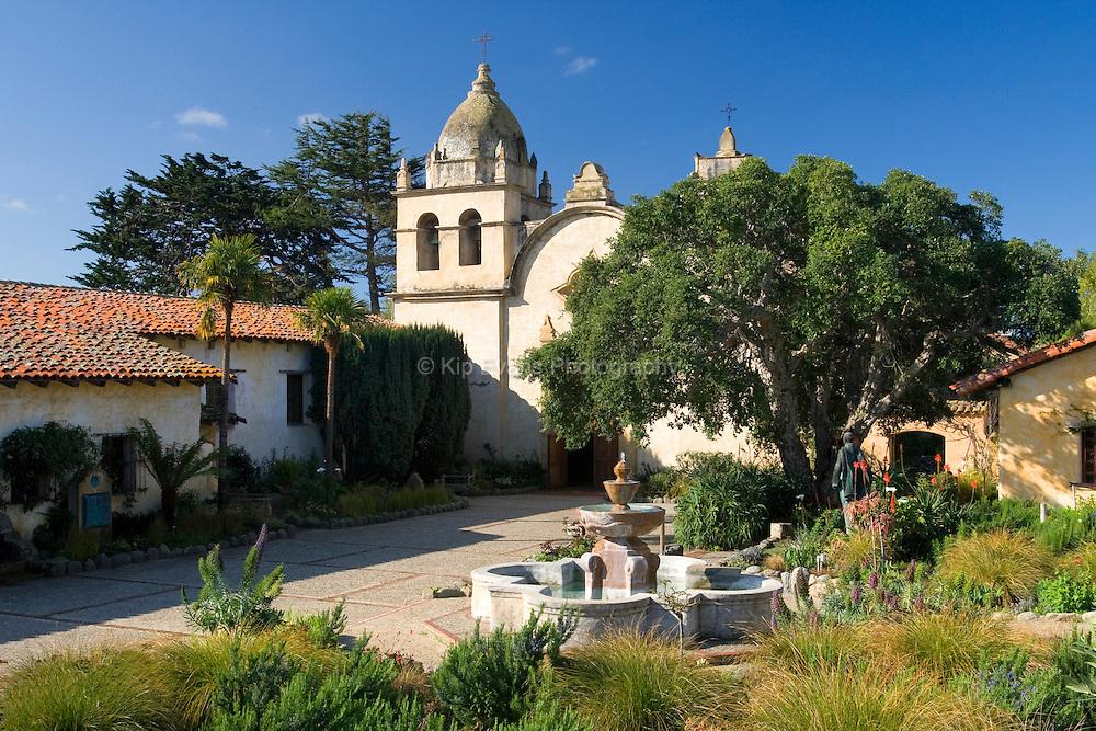Carmel Mission in Carmel, California.