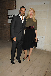 CLAUDIA SCHIFFER and TOM FORD at Fashion Fringe 2007 held at 1 The Piazza, Covent Garden, London on 20th September 2007.<br />
