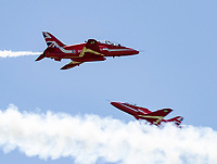 RAF Red Arrows(first display since 2019) during the Midlands Air Festival Midlands Air Festival Photo by Chris wynne