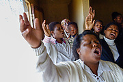 A small church in Maputsoe, Lesotho led by Pastor Moses Marshall.