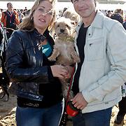 NLD/Scheveningen/20101003 - Dutchypuppy Doggywalk 2010, Isabelle Brinkman en partner Rick