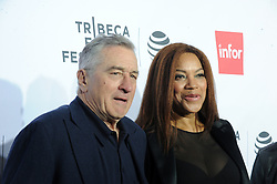NEW YORK, NY - APRIL 21: Robert De Niro, Grace Hightower attends the 'Taxi Driver' 40th Anniversary Celebration during the 2016 Tribeca Film Festival at The Beacon Theatre on April 21, 2016 in New York City. ...People:  Robert De Niro, Grace Hightower. (Credit Image: © SMG via ZUMA Wire)