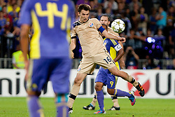 Milan Badelj #16 of Dinamo Zagreb during Play-offs for Champions League between NK Maribor (Slovenia) and GNK Dinamo Zagreb (Croatia), on August 28, 2012, in Maribor, Slovenia. (Photo by Urban Urbanc / Sportida.com)