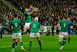 February 3, 2018 - Saint Denis, Seine Saint Denis, France - The Fullback of Irish team Robert Kearney in action during the NatWest Six Nations Rugby tournament between France and Ireland at the Stade de France - St Denis - France..Ireland Won 15-13 (Credit Image: © Pierre Stevenin via ZUMA Wire)