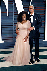 Feb. 22, 2015 - Beverly Hills, California, USA - Oprah Winfrey and Stedman Graham attending the Vanity Fair Oscar Party 2015 on February 22, 2015 in Beverly Hills, California. (Credit Image: © Future-Image/ZUMA Wire)