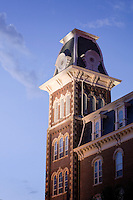University of Arkansas building and symbol Old Main ..©Wesley Hitt.All Rights Reserved.501-258-0920.