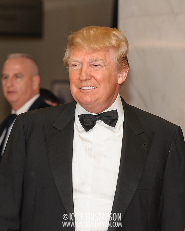 Donald Trump  at the 2011White House Correspondents Dinner at the Washington Hilton. Photo by Kyle Gustafson