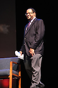 May 7, 2012- New York, NY United States: - Dr. Michael Eric Dyson attends the Theater Talks at the Schomburg: A Streetcar Named Desire held at the Schomburg Center for Research in Black Culture, part of the New York Public Library on May 7, 2012 in Harlem Village, New York City. The Schomburg Center for Research in Black Culture, a research unit of The New York Public Library, is generally recognized as one of the leading institutions of its kind in the world. For over 80 years the Center has collected, preserved, and provided access to materials documenting black life, and promoted the study and interpretation of the history and culture of peoples of African descent. (Photo by Terrence Jennings) .