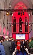 Koningin Maxima opent de Jheronimus Academy of Data Science (JADS) in het voormalig klooster Mariënburg in 's-Hertogenbosch.<br /> <br /> Queen Maxima Opens Tomorrow the Hieronymus Academy of Data Science (JADS) in the former convent Marienburg in 's-Hertogenbosch.<br /> <br /> Op de foto / On the photo: Aankomst / Arrival
