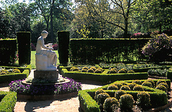 Stock photo of the sculpture in the gardens at Bayou Bend.