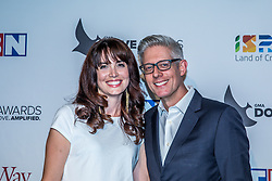 October 11, 2016 - Nashville, Tennessee, USA - Matt Maher and his wife at the 47th Annual GMA Dove Awards  in Nashville, TN at Allen Arena on the campus of Lipscomb University.  The GMA Dove Awards is an awards show produced by the Gospel Music Association. (Credit Image: © Jason Walle via ZUMA Wire)