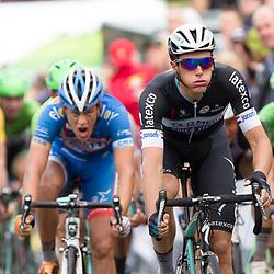29-06-2014: Wielrennen: NK wielrennen: Ootmarsum Niki Terpstra werd tweede