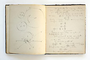page from a students school notebook from 1883