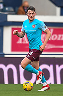 John Souttar (#4) of Heart of Midlothian FC during the SPFL Championship match between Raith Rovers and Heart of Midlothian at Stark's Park, Kirkcaldy, Scotland on 30 April 2021.