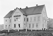 "9707-K250. written on original negative envelope: ""Jesse Lee Home"" Unalaska, June 22-24, 1917 Alaska. (This orphanage was moved from Unalaska to Seward in 1925. )"